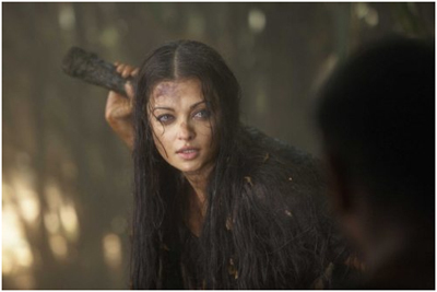 Aishwarya Rai Without Makeup in Raavan Movie