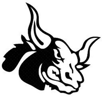 angry bull tattoo