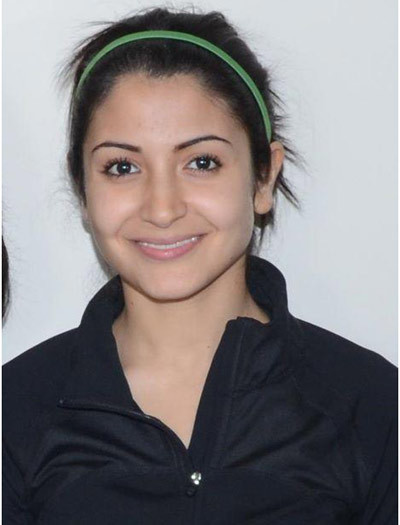 anushka sharma at spotted
