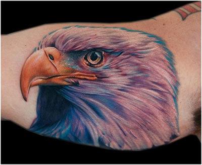 bald eagle tattoos designs