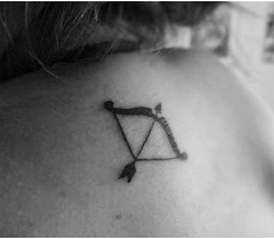 Bow and Arrow Tattoo: