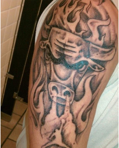 bull head tattoo ideas