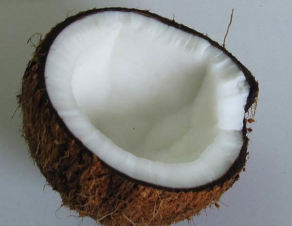 coconut with lemon