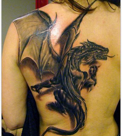 coverage dragon tattoo