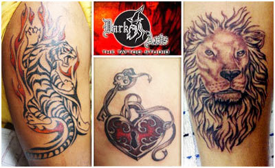 dark arts the tattoo studio