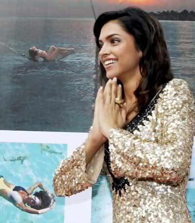 Deepika At TATA Open Badminton Tournament in Mumbai