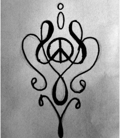 design a peace symbol