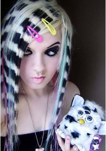 emo hairstyles tumblr