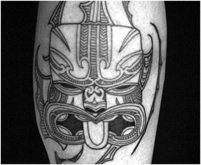 Facial Maori Tattoo