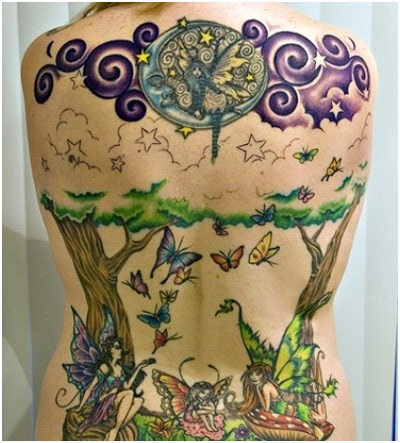 fairy world tattoo
