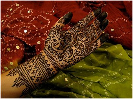 gujarati mehndi designs hands