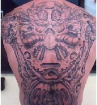 Best Zodiac Sign Tattoos - 3. Huge Zodiac Tattoo