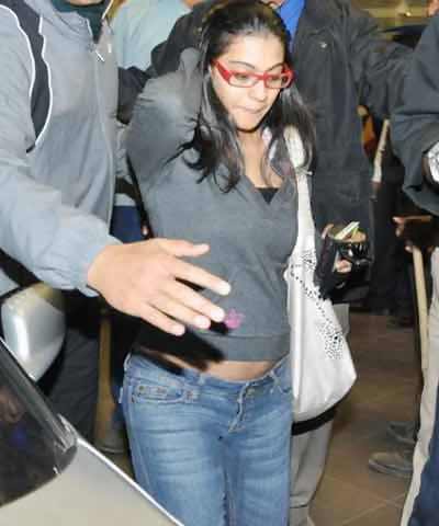kajol back from berlin