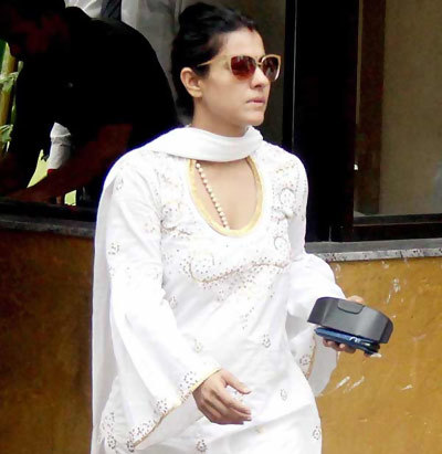 Kajol Without Makeup at Yash Chopra Tribute