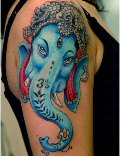 lord ganesh head