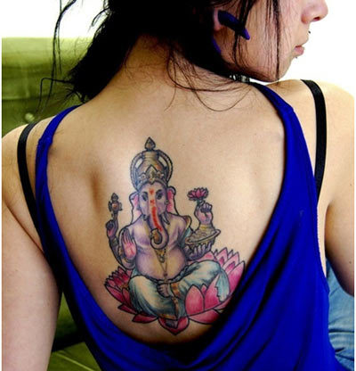 lord ganesha tattoo designs