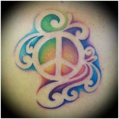 peace inspired tattoos