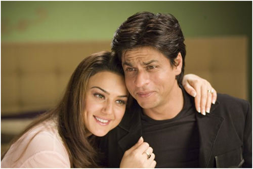 preity zinta with shahrukh khan
