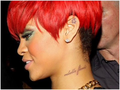 10 Sexy Rihanna Tattoos And Their Meanings