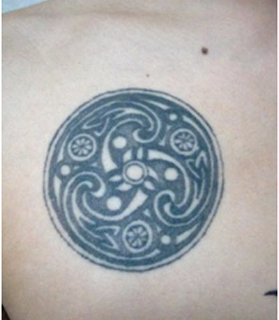 round celtic tattoos