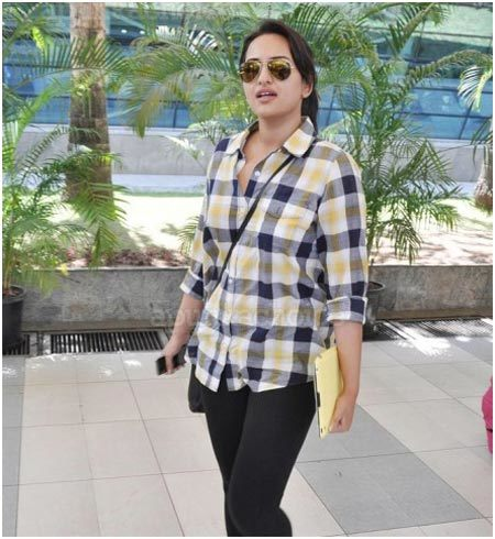 sonakshi sinha without makeup photo