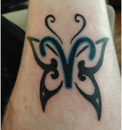 symbol of a butterfly