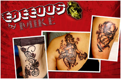 tattoos by mike