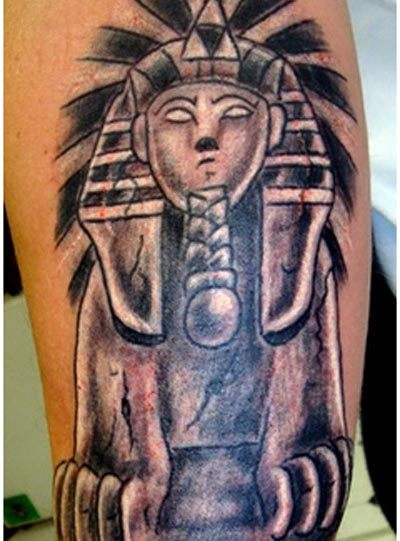 the sphinx tattoo