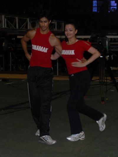 Aishwarya Rai Dance Practice