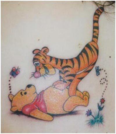 winnie the pooh tattoo designs