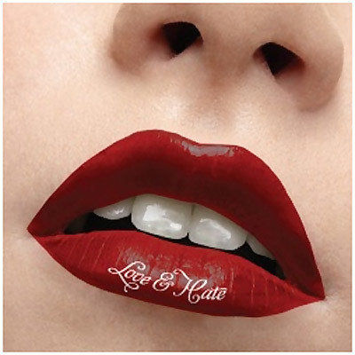 word tattoos on outer lip