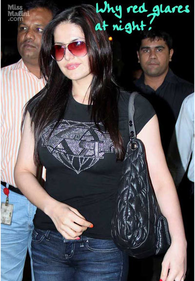 zarine khan no makeup