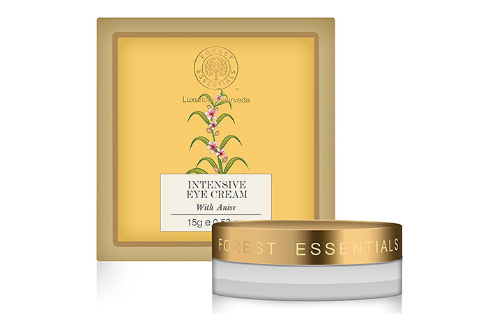 1. Forest Essentials Intensive Eye Cream With Anise