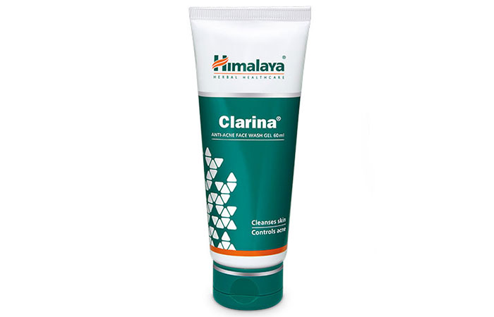 1. Himalaya Clarina Anti-Acne Face Wash Gel