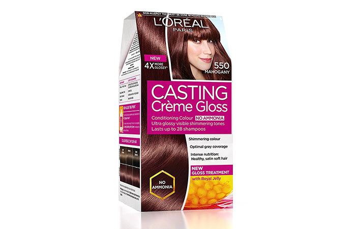 Best L'oreal Hair Color Products - Mahogany 550