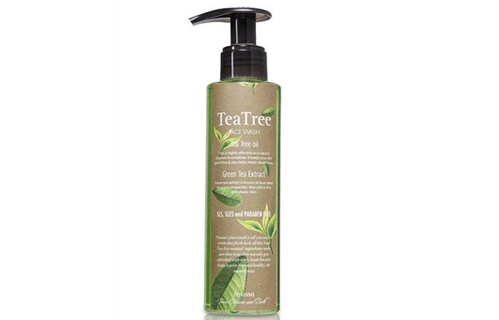 1. Nyassa Tea Tree Face Wash