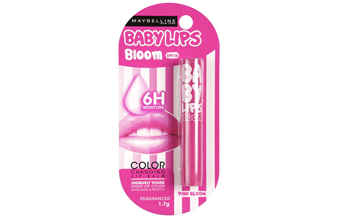 Maybelline Baby Lips: Pink Bloom - Maybelline Lip Balms