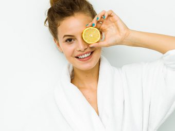 10 Best Homemade Lemon Face Packs For Clear Skin