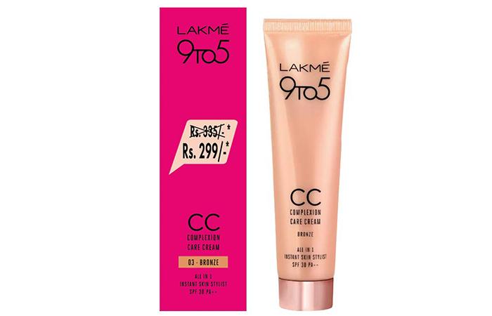 Lakme 9To5 CC Complexion Care Cream
