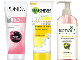 10 Best Skin Whitening Face Washes 2019