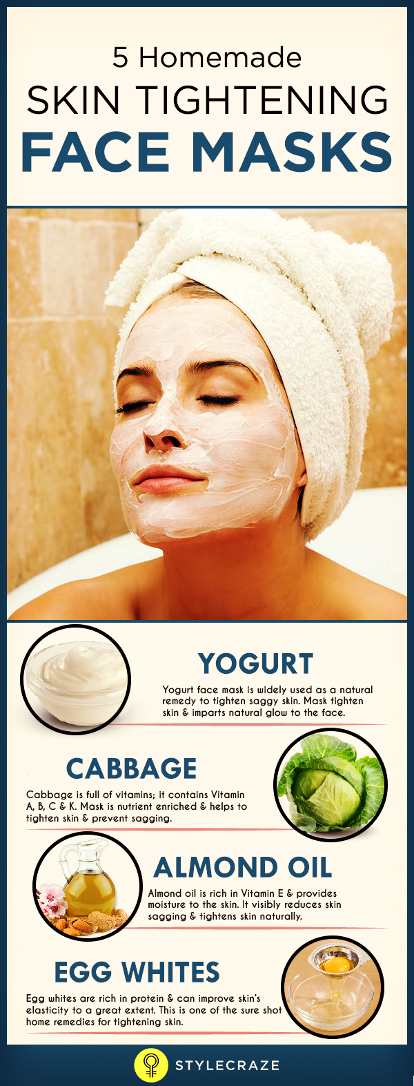 Making your own natural facial firmer