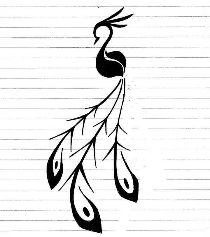 10-Impressive-Peacock-Tattoo-Designs
