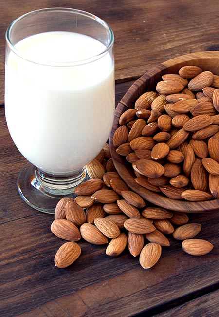 10. Almonds And Milk