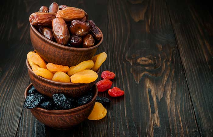 10. Dried Apricots, Dates, And Prunes