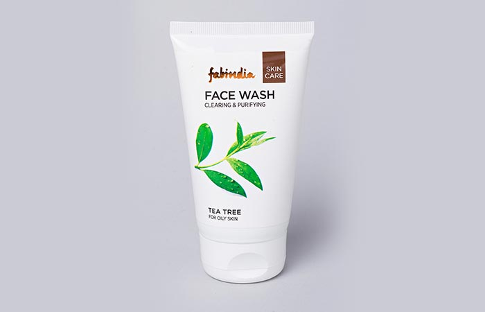 10. Fabindia Tea Tree Face Wash