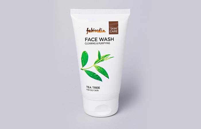 10. Fabindia Tea Tree Face Wash