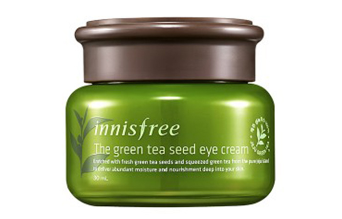 10. Innisfree The Green Tea Seed Eye Cream
