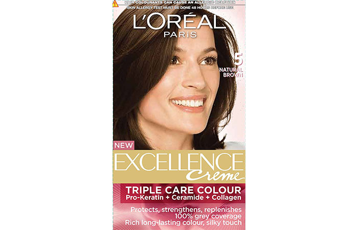 Best L'oreal Hair Color Products - Natural Brown 5