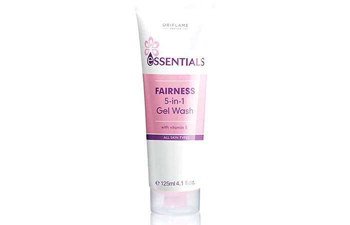 10. Oriflame Essentials Fairness 5-in-1 Face Wash
