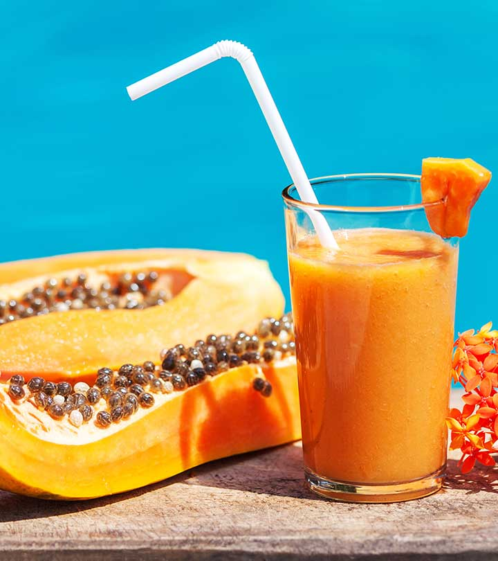 10 Amazing Health Benefits Of Papaya Juice & How To Make It